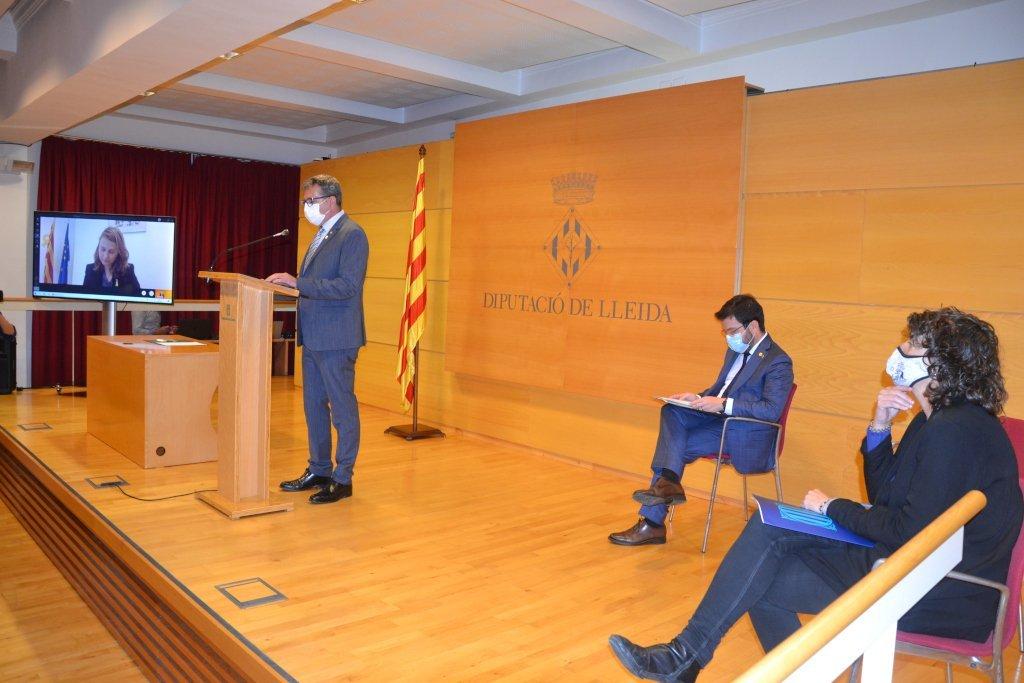 Acte de presentació del projecte de transformació econòmica