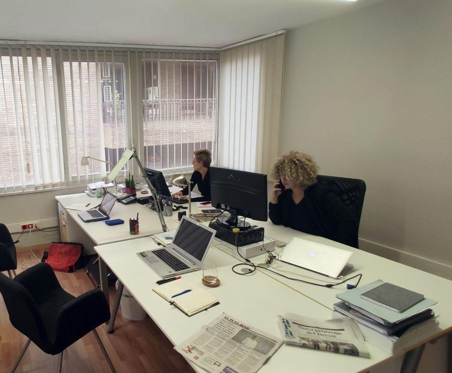 El dia a dia al despatx de Comunicant Bona Premsa