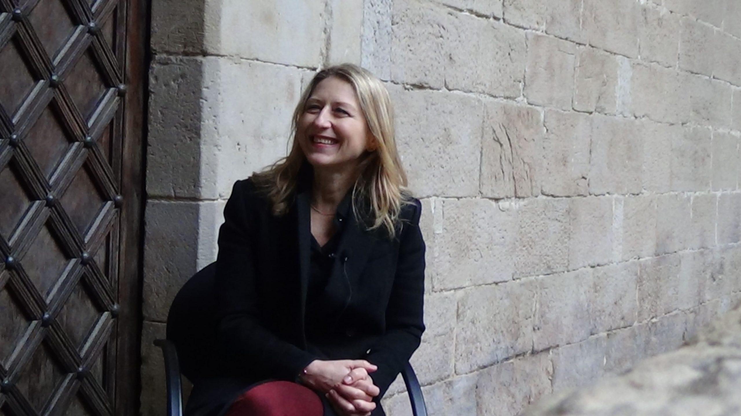 Mireia González, entrevista al pati de lIEI