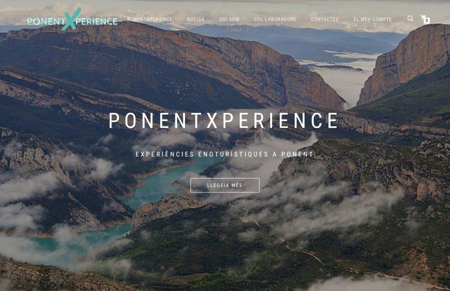 Inici web PonentXperience