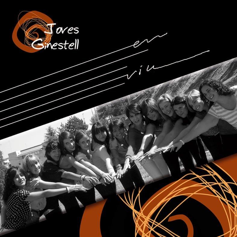 Portada del CD de la Coral Ginestell gravat el 2007