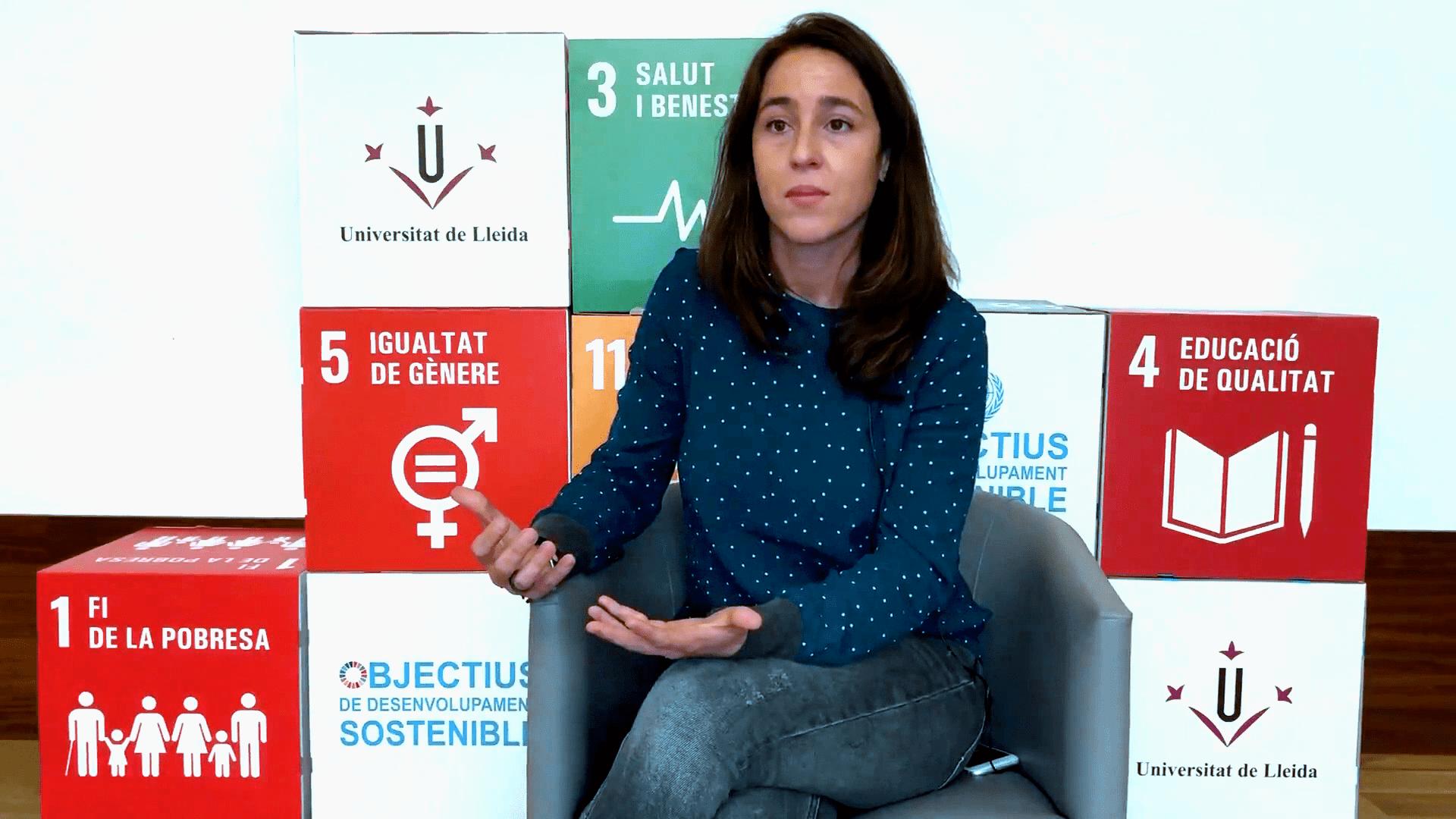 Cristina Torrelles Nadal és professora de la UdL i membre de la Càtedra d'Innovació Social de la mateixa universitat.