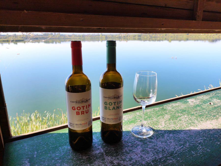 Vins del Castell del Remei per a la visita guiada a l'estany d'IVars i Vila-sana